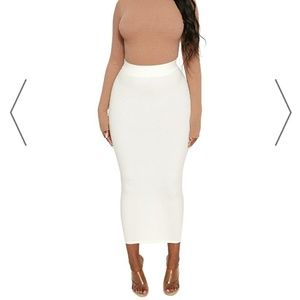 Naked Wardrobe Snatched Maxi skirt